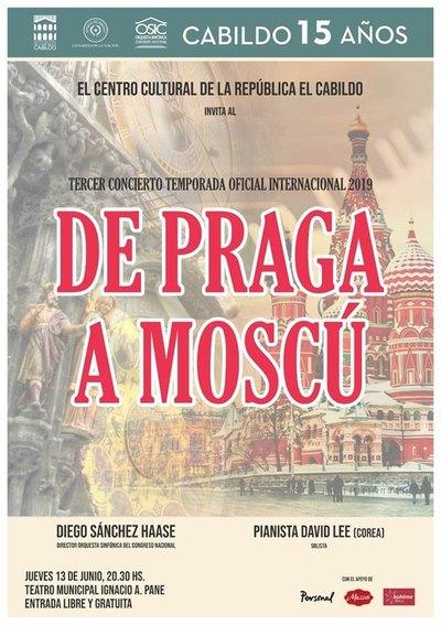 """OSIC interpretará obras de Dvorak y Rachmaninov en el concierto """"De Praga a Moscú"""""""