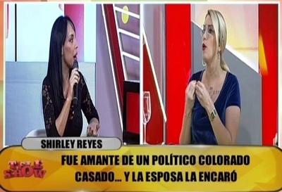 """Carmiña Masi trató de """"bandida"""" a Shirley Reyes"""