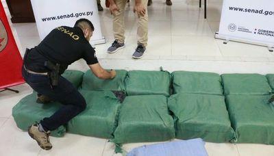 SENAD desbarata estructura que transportaba  cocaína de Bolivia