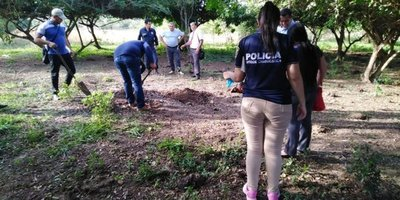 Hallan restos óseos en Paraguarí