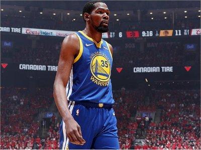"""Los Warriors se apoyarán en el """"espíritu"""" Durant y buscarán empatar la serie"""