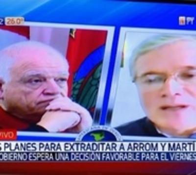 Gobierno espera que Brasil revoque asilo a Arrom y Martí este viernes