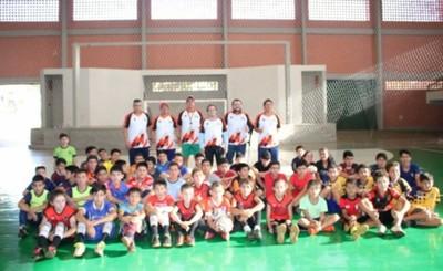 Inauguran Escuela Municipal de Fútbol de Salón