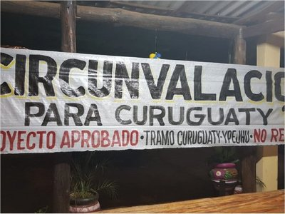 Anuncian cierre de ruta para exigir circunvalación en Curuguaty