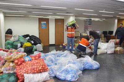 Continúan llegando donaciones para familias afectadas por inundaciones