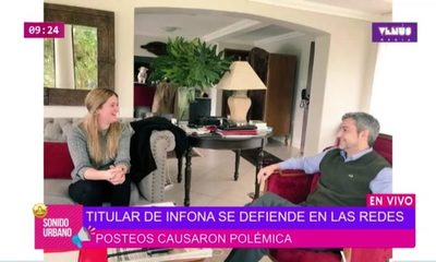"""""""Yo no estoy embarazada"""", titular del INFONA desmiente su relación con Mario Abdo"""