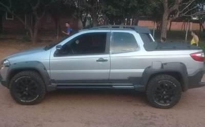 Recuperan camioneta robada
