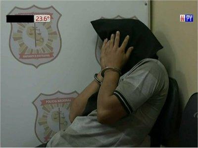 Capturan a joven sospechoso de homicidio en Mariano Roque Alonso
