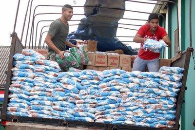 APF DONA 21.000 KILOS DE ALIMENTOS A DAMNIFICADOS POR INUNDACIONES