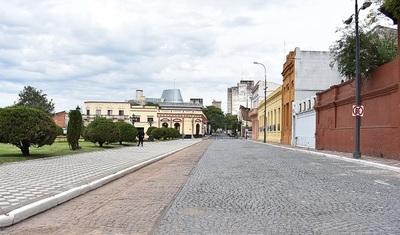 Buscan revalorizar de adoquinados en circuitos históricos de la capital