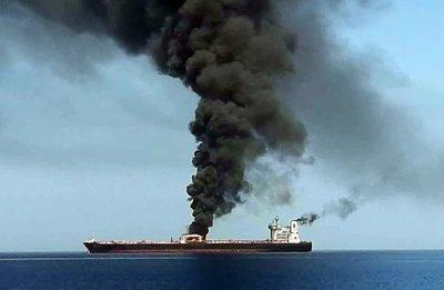 Evacuados dos buques cisterna en nuevo incidente en golfo de Omán