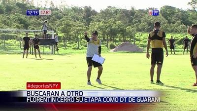 Floretín dejó de ser DT de Guaraní