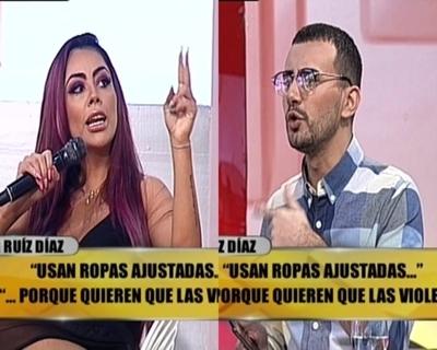 Jennifer Ruiz increpó a Carlos Gómez