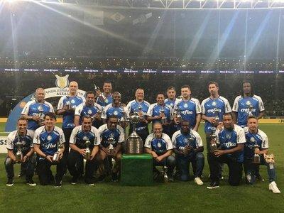 Homenajeados en el Palmeiras