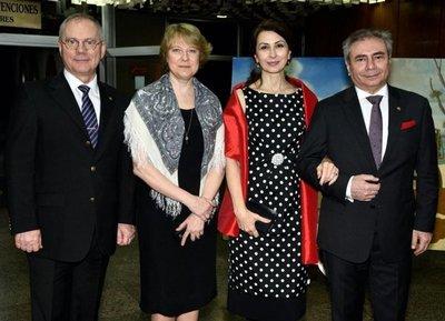 Recepción por el Día Nacional de la Federación de Rusia