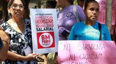 Trabajadoras domésticas volverán al Congreso para exigir la aprobación de ley