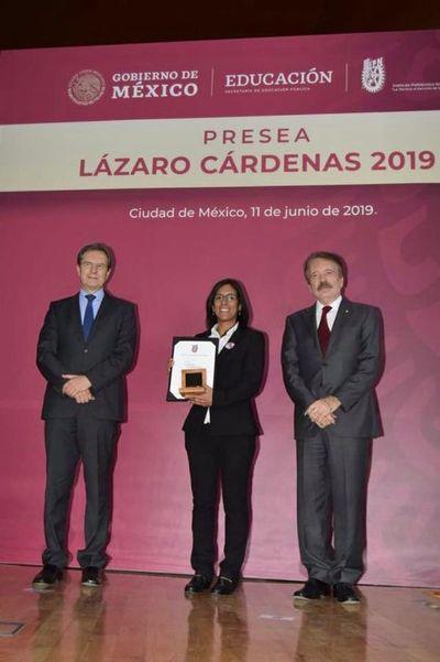 En México, distinguen a investigadora paraguaya