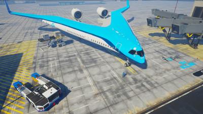 Proyectan crear un avión en el cual los asientos se ubiquen en las alas