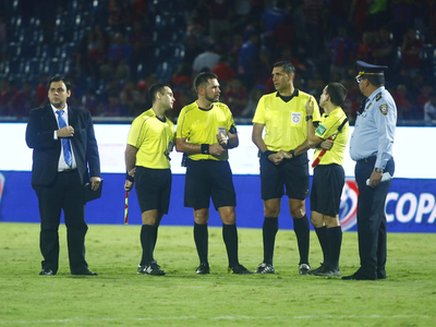 Tribunal sanciona a árbitros del juego entre Cerro y San Lorenzo