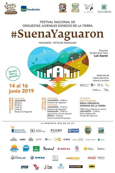 Festival Nacional de Orquestas Juveniles inició en Yaguarón