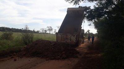 Reparan caminos afectados por inundaciones en Antequera