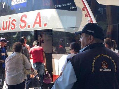 Autorizan aumento de frecuencia de buses por feriado largo