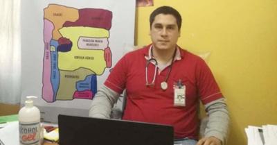 Doctor atiende a cambio de  alimentos no  perecederos