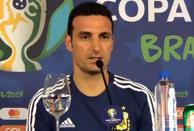 Lionel Scaloni confirmó el once argentino para el debut ante Colombia