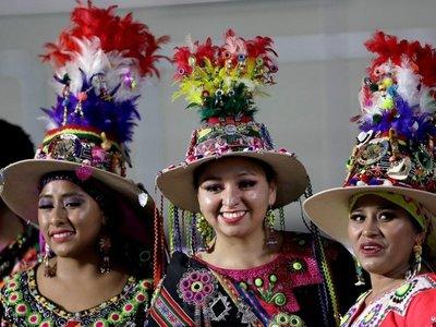 Homenaje a la cultura indígena en la ceremonia inaugural al son de Karol G