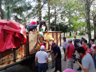 Itapúa Solidaria entregó más de 30.000 kilos de alimentos a damnificados