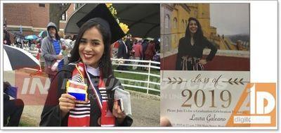 Paraguaya es mejor egresada de la Universidad de Boston