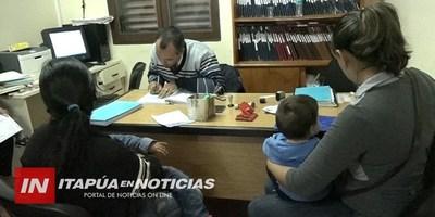 GRAL. DELGADO: REINSCRIPCIÓN DE DATOS SE DESARROLLÓ EN EL REGISTRO CIVIL.