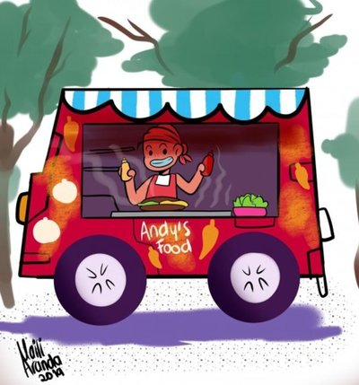 Food park: el boom del negocio gastronómico que combina platos muy diversos