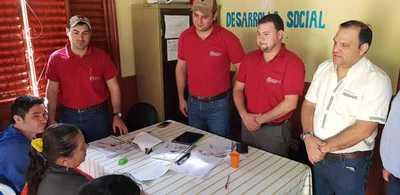 Tenonderã inicia proceso de inclusión de 800 nuevas familias en el departamento de Caaguazú