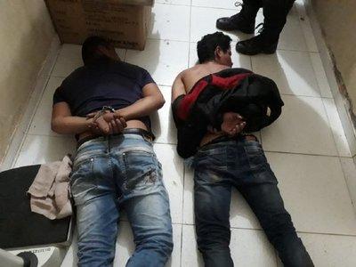 Sospechosos de asalto en Casado fueron llevados a Concepción