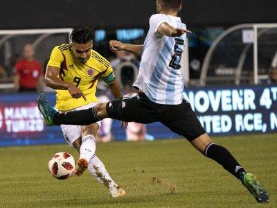 Paso a paso: Argentina vs. Colombia