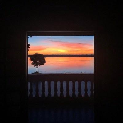 Casa Puente y su increíble puesta de sol que invita a la relajación