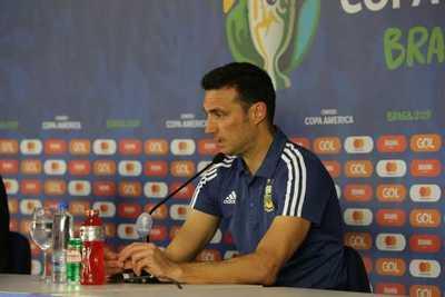 Lionel Scaloni resalta el segundo tiempo de Argentina