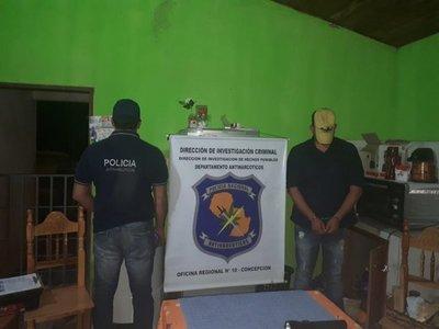 Detienen a brasileño con crack en Yby Yaú