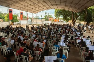 Este domingo se realiza el multitudinario concierto de Orquestas de Sonidos de la Tierra