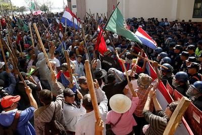 Labriegos llegan mañana para movilizaciones y traerán donaciones para damnificados