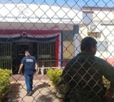 Motín en penal de San Pedro