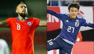 El bicampeón Chile se estrena frente al complicado Japón
