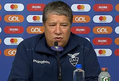 Hernán Darío Gómez señala que chocaron contra la selección más fuerte de la Copa