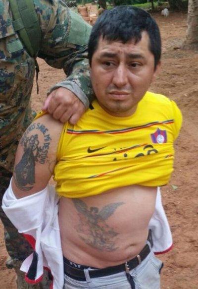 El líder del clan Rotela fue trasladado anoche a la Agrupación Especializada