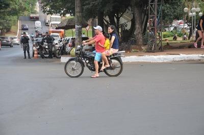 El 80% de los motociclistas circula de forma irregular en Ciudad del Este
