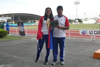 Medalla de oro para Rocío Chaparro en el heptatlón