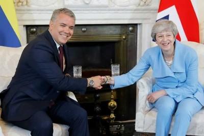 """El presidente de Colombia aboga por la """"legalidad"""" en su visita al Reino Unido"""