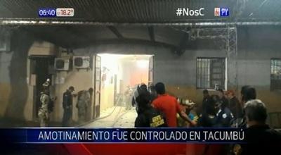 Así controlaron el amotinamiento en Tacumbú