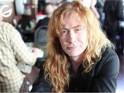 Líder de Megadeth es diagnosticado con cáncer de garganta
